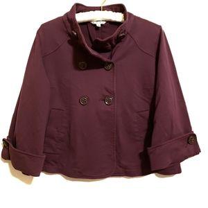 CAbi > Terry Topper Cotton Blazer Size Medium